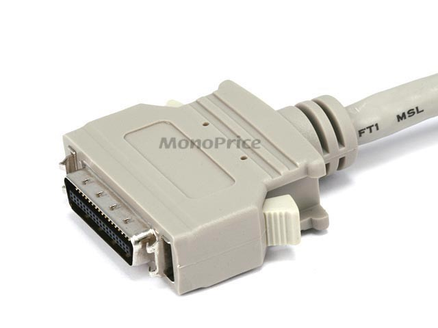 4.5m DB-25(IEEE-1284) Male to Mini/Micro Centronic 36(HPCN36) Male Cable [IE], MNCAB-259