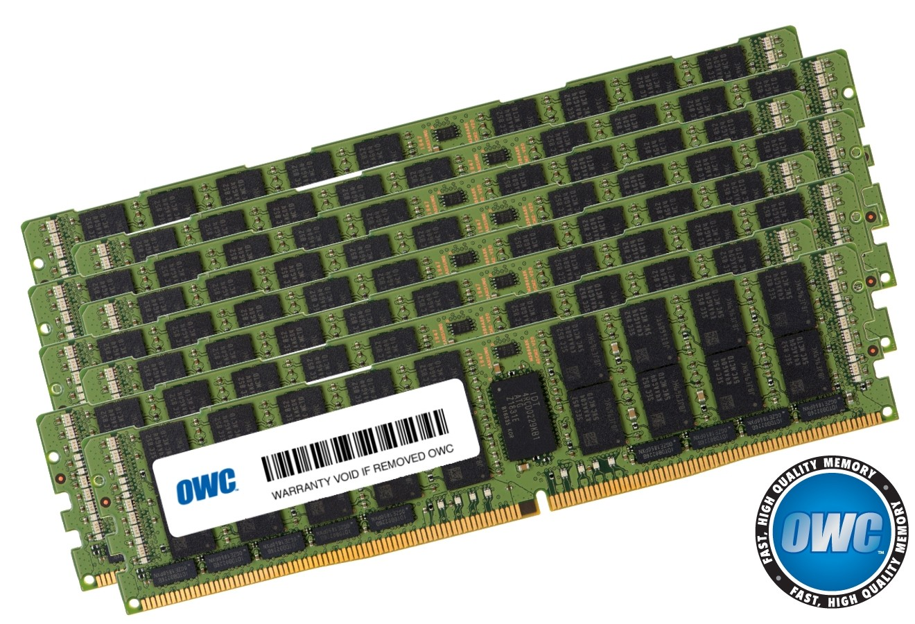 512GB (8 x 64GB) PC23400 DDR4 ECC 2933MHz 288-pin LRDIMM Memory Upgrade Kit, OWC2933L6M512