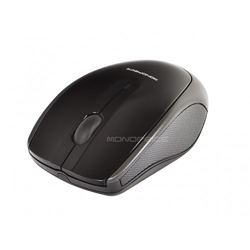 M19 Wireless 3-Button Optical Mouse - Black