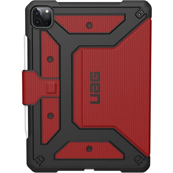 "Urban Armor Gear Metropolis Case for iPad Pro 12.9"" (4th Gen) - Magma, 122066119494"