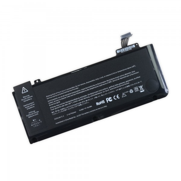 "MacBook Pro 13"" Unibody (Mid 2009 to Mid 2012) Replacement Battery - Includes tools, A1322"