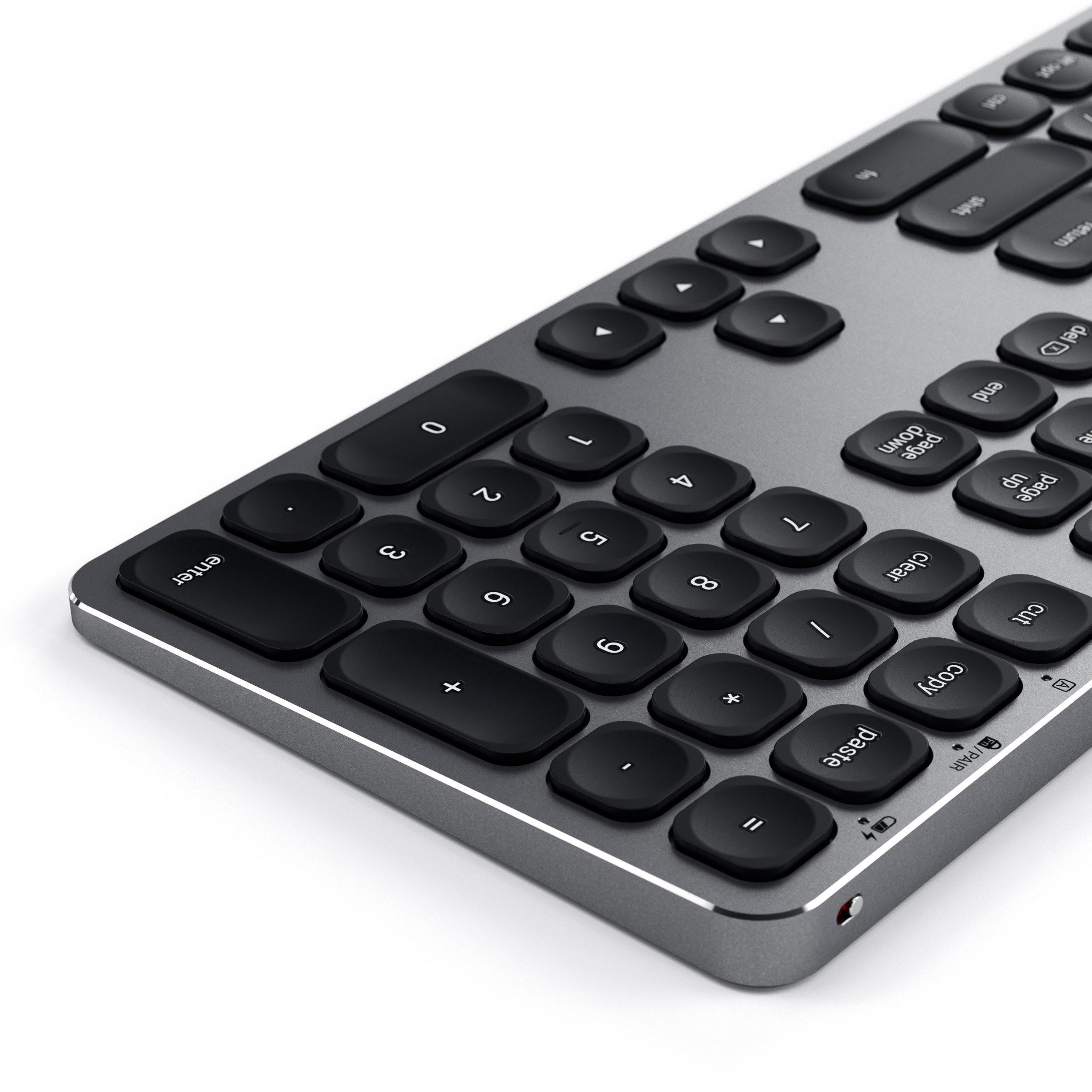Satechi Wireless Keyboard - Space Grey, ST-AMBKM