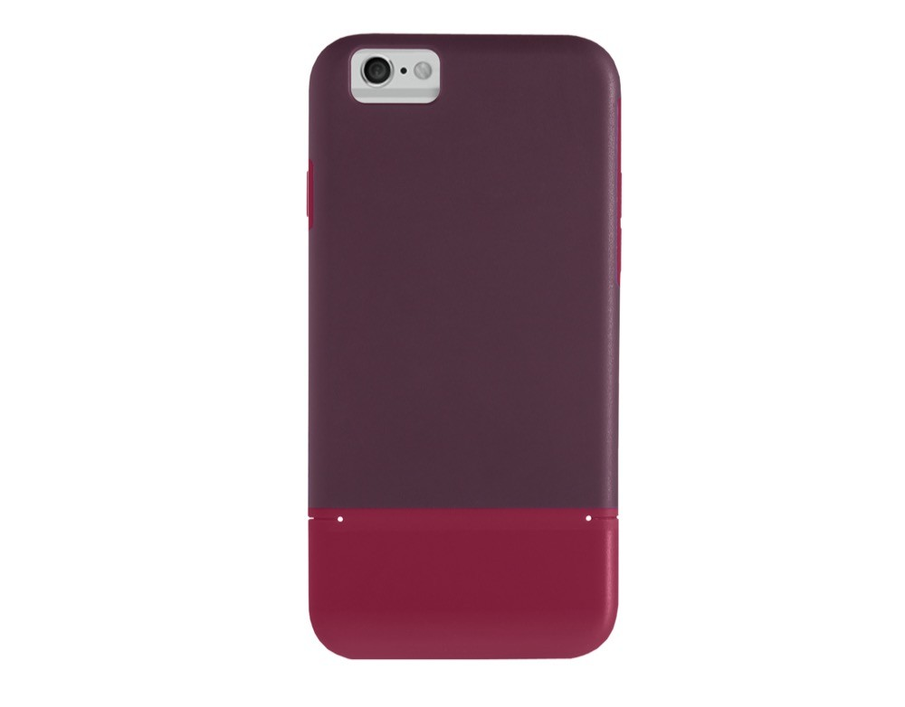 STM Harbour Case for iPhone 6 Plus/6S Plus - Dark Red, STM-HAR-IPH6+RD