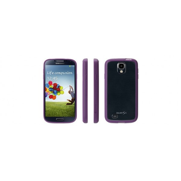 Griffin Reveal Case suits Samsung Galaxy S4 - Purple/Clear, *GRIF-REV-SGS3-PU