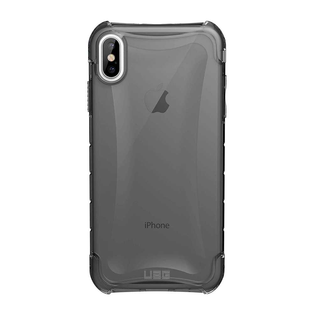 Urban Armor Gear iPhone Xs Max Plyo Feather-Light Rugged Military Drop Tested iPhone Case - Ash, 111102114343