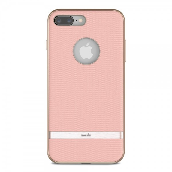 MOSHI Vesta for iPhone 8 Plus/7 Plus - Blossom Pink, 99MO090304