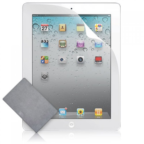 ClearCal Screen Protector / Protective Film for iPad 2/3/4 : Clear