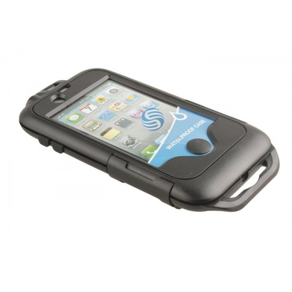 Tough Waterproof Case and Bicycle Handlebar Mount for Apple iPhone 4, *BIKCASE