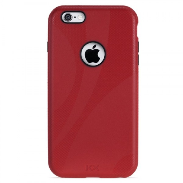 NewerTech NuGuard KX, X-treme Protection for Your iPhone 6/6s - Red, NWTKXIPH6CR