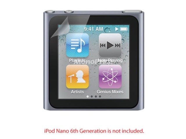 Screen Protective Film w/ High Transparency Finish for iPod Nano 6th Generation, N6-8331