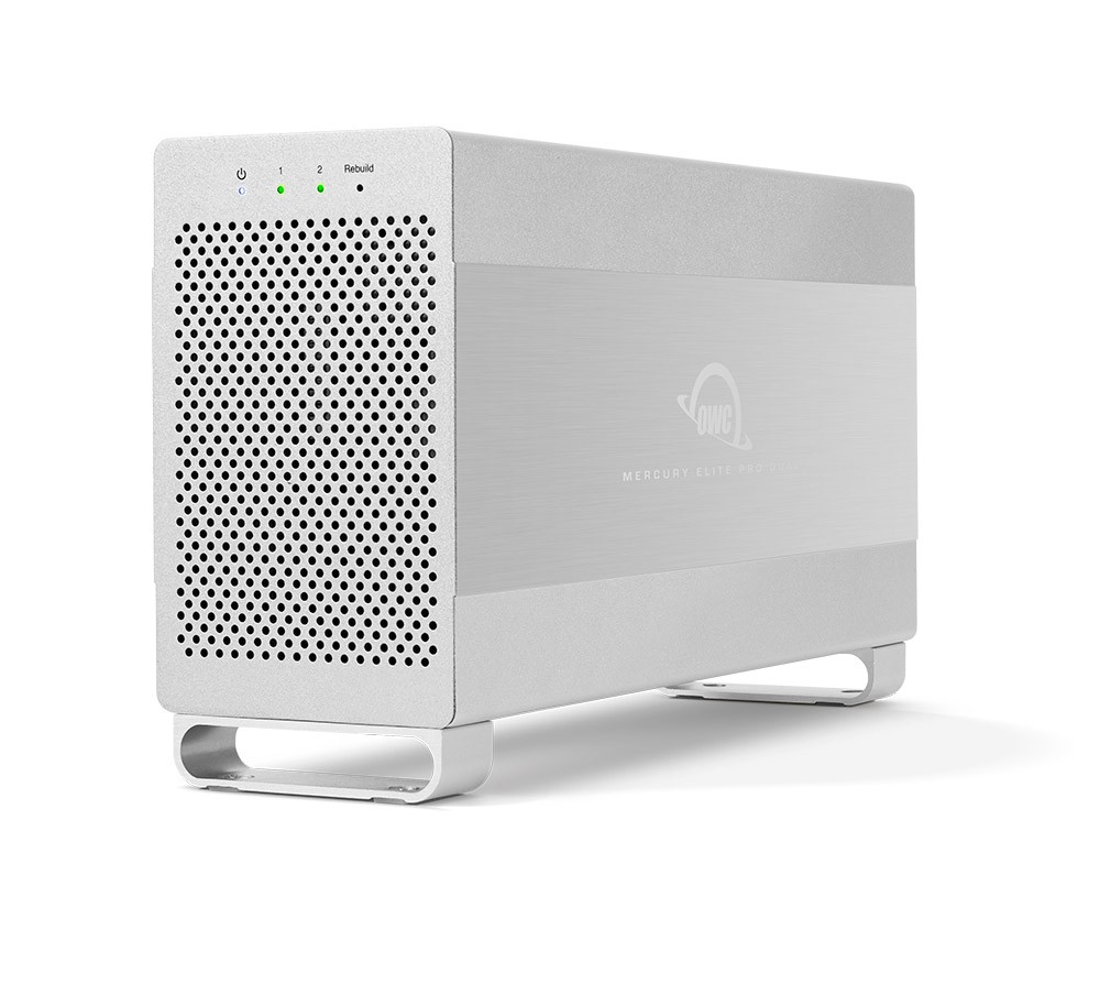 16.0TB OWC Mercury Elite Pro Dual RAID USB 3.1 / eSATA Storage Solution, OWCMED3ER7T16.0