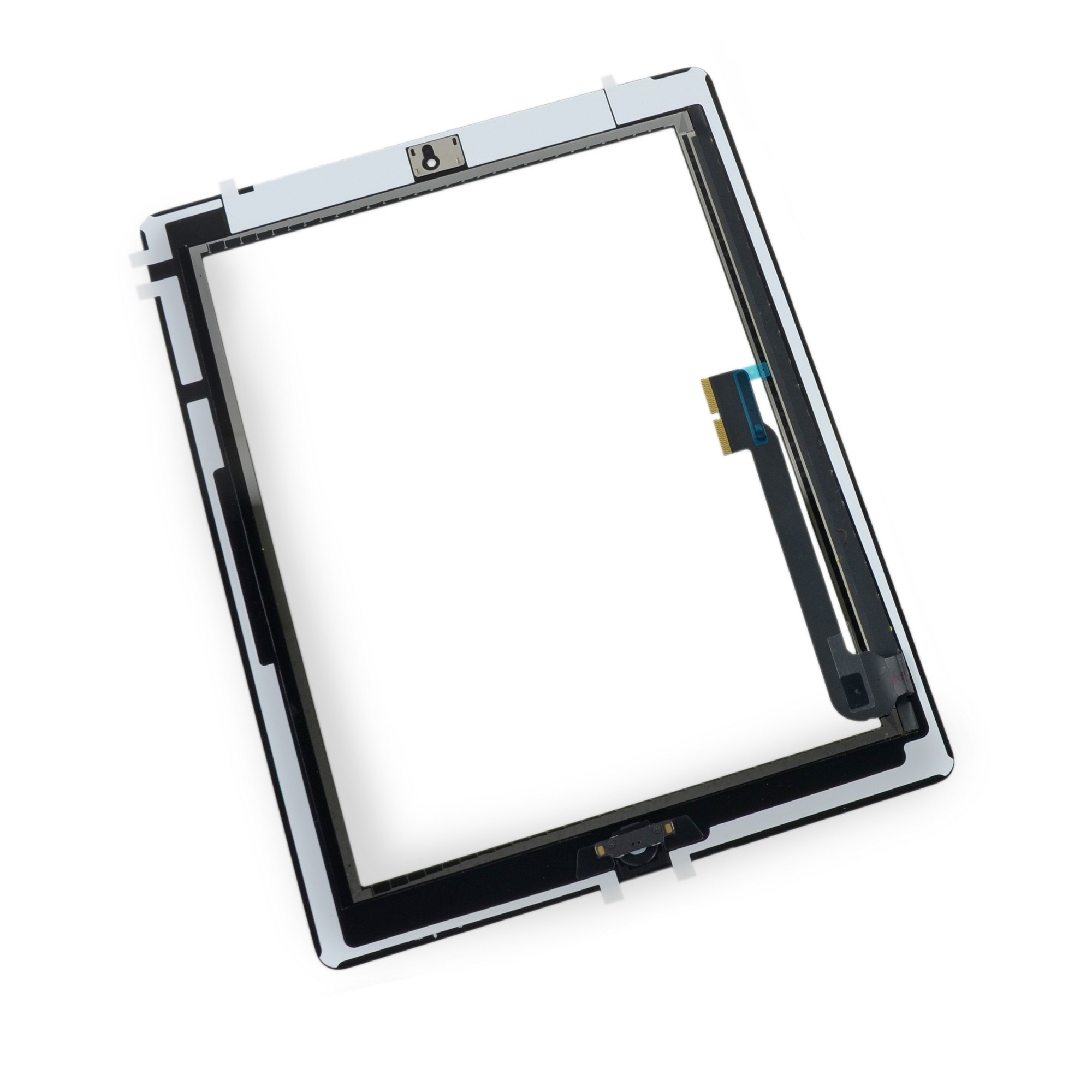 iPad 3 Front Glass/Digitizer Touch Panel Full Assembly, Part Only, New - Black, IF116-018-1