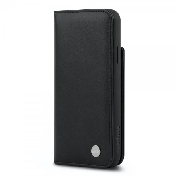 Moshi Overture Case with Detachable Magnetic Wallet for iPhone 11 Pro Max - Black, 99MO091013