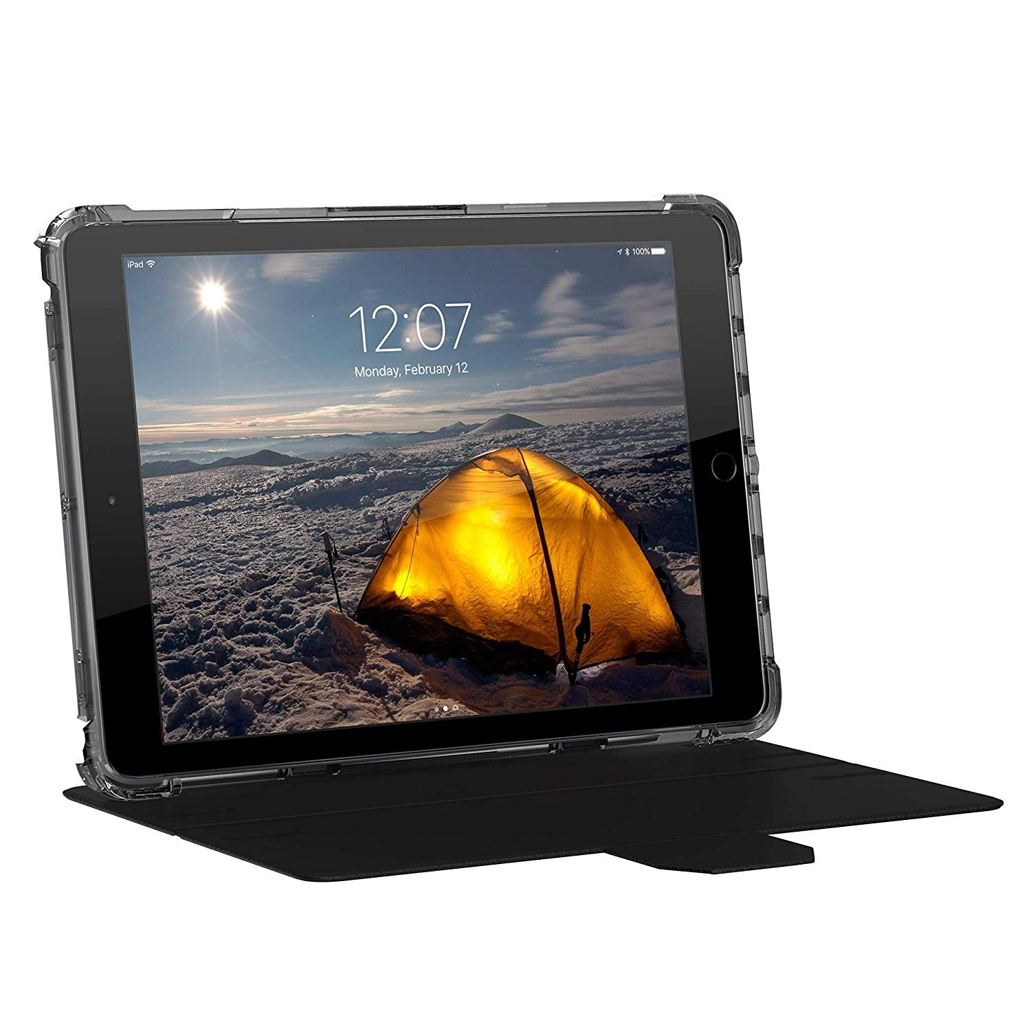 """UAG iPad 9.7"""" (5th & 6th) Feather-Light Rugged Military Drop Tested Case - Ice, 812451031669"""
