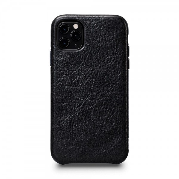 Sena LeatherSkin Leather Case for iPhone 11 Pro - Black, SFD445NPUS
