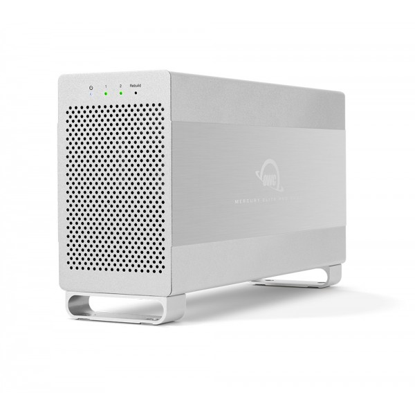 4.0TB OWC Mercury Elite Pro Dual RAID USB 3.1 / eSATA Storage Solution, OWCMED3ER7T04.0
