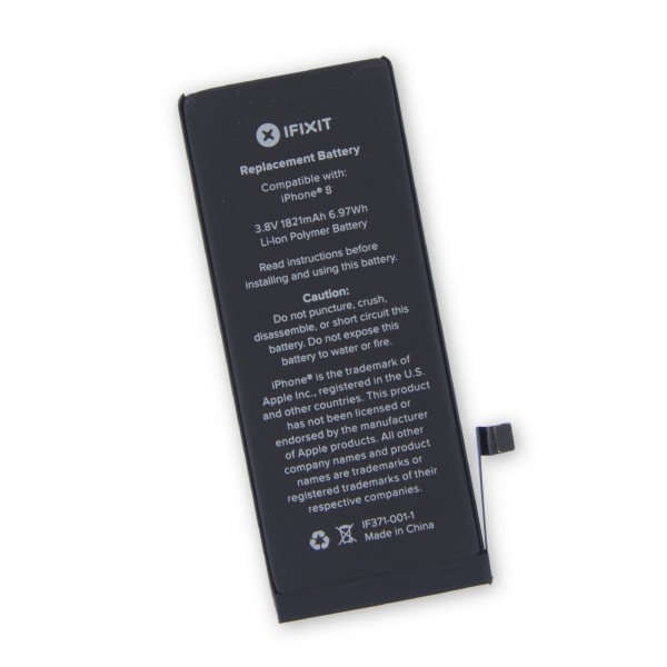 iFixit iPhone 8 Replacement Battery, Part Only - New, IF371-001-1