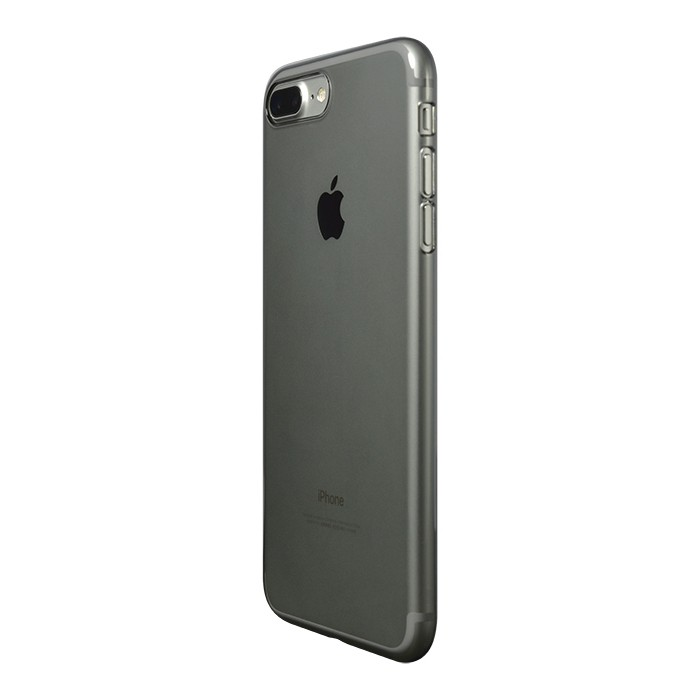 Power Support Air Jacket for iPhone 7 Plus/8 Plus - Clear Black, PBK-73