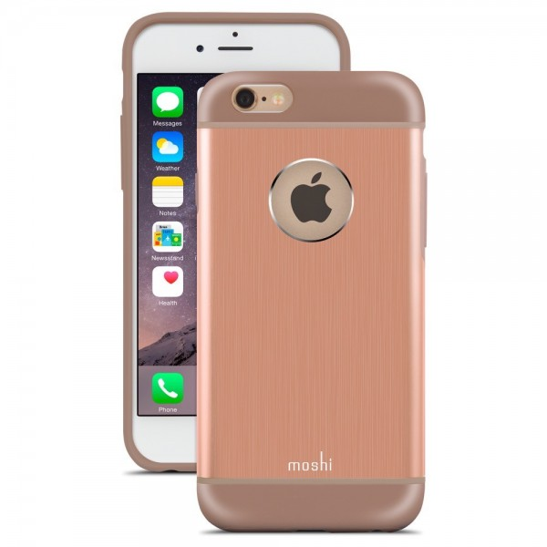 Moshi iGlaze armour Case for iPhone 6s and 6 - Sunset Copper, 99MO079303