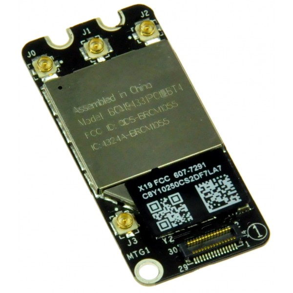 MacBook Pro Unibody (Early 2011 through Mid 2012) Airport/Bluetooth Board - Bluetooth 4.0, IF161-083-2