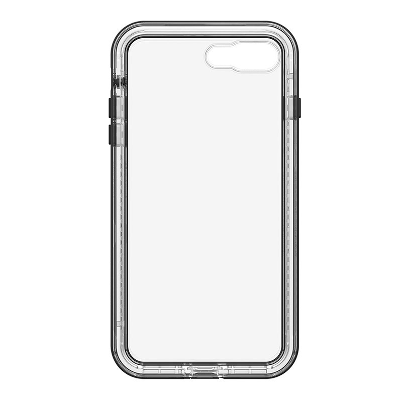 LifeProof Next Case Suits iPhone 8 Plus/7 Plus - Clear/Black, 77-57194