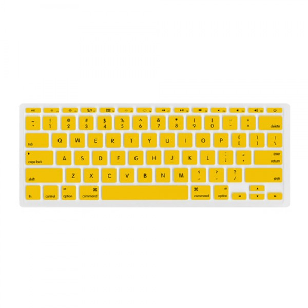 "NewerTech NuGuard Keyboard Cover for all 2011-2016 MacBook Air 11"" models - Yellow , NWTNUGKBA1211Y"
