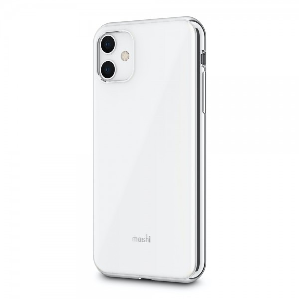 Moshi iGlaze Slim Hardshell Case for iPhone 11 - White, 99MO113104