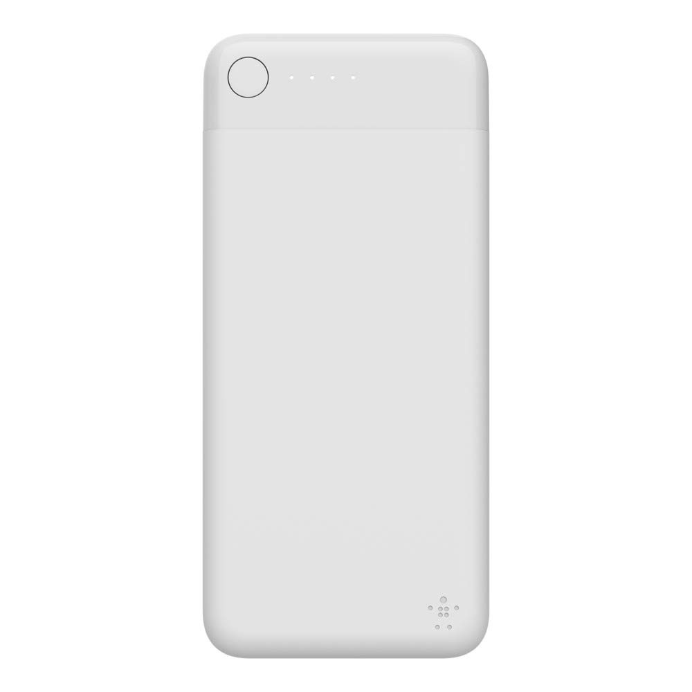 Belkin Boost Charge Power Bank 10K with Lightning Connector - White, F7U046btWHT