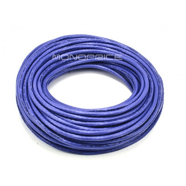 23m 24AWG Cat6 550MHz UTP Ethernet Bare Copper Network Cable - Purple, ETH-5030
