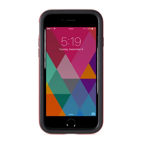 NewerTech NuGuard KX for iPhone 8/7 - Crimson (Red), NWTKXIPH7CR