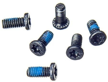 """Torx T8 Hinge Screws (x6) Replacement for MacBook Pro 13"""" A1278, 15"""" A1286 (2008, 2009, 2010, 2011, 2012), CMP-6069"""