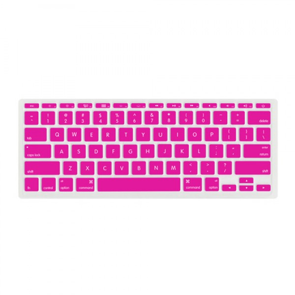 "NewerTech NuGuard Keyboard Cover for all 2011-2016 MacBook Air 11"" models - Pink, NWTNUGKBA1211PK"