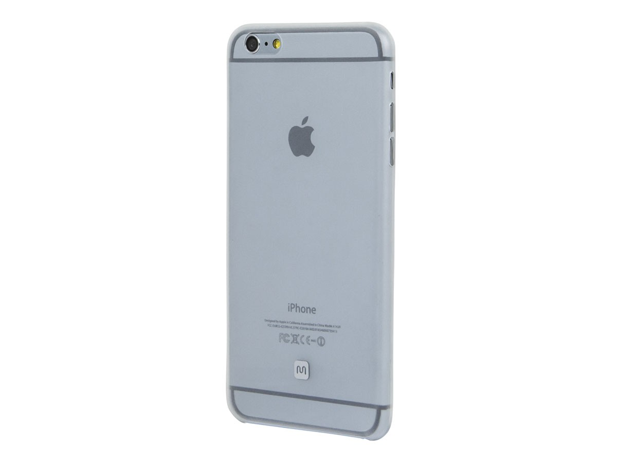 Ultra-thin Shatter-proof Case for 5.5-inch iPhone 6 Plus and 6s Plus - Clear Frost, IPH6+12357