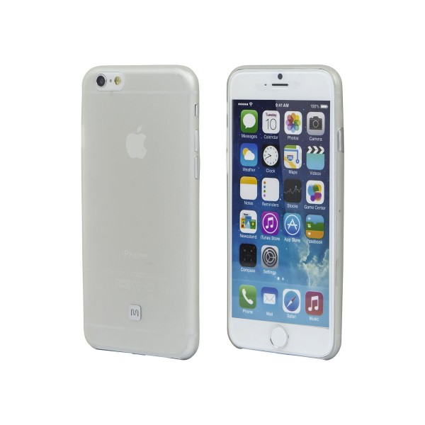 Ultra-thin Shatter-proof Case for 4.7-inch iPhone 6 and 6s - Clear Frost, IPH6-12226