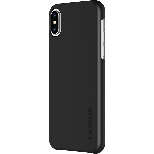 Incipio feather Pure Case with Ultra -Thin Snap-On Design for iPhone X - Black, IPH-1643-BLK