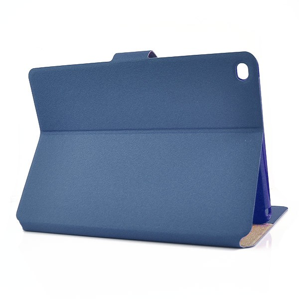Flip Stand Cover Case with Card Slot for iPad Air 2 - Dark Blue, IPD6-FLIP-66357