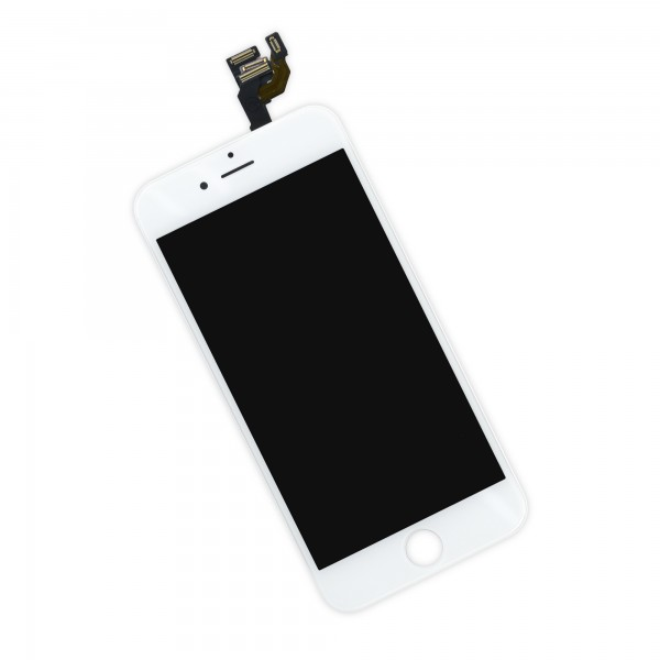 iPhone 6 LCD Screen and Digitizer Full Assembly, New, Part Only - White, IF268-000-2