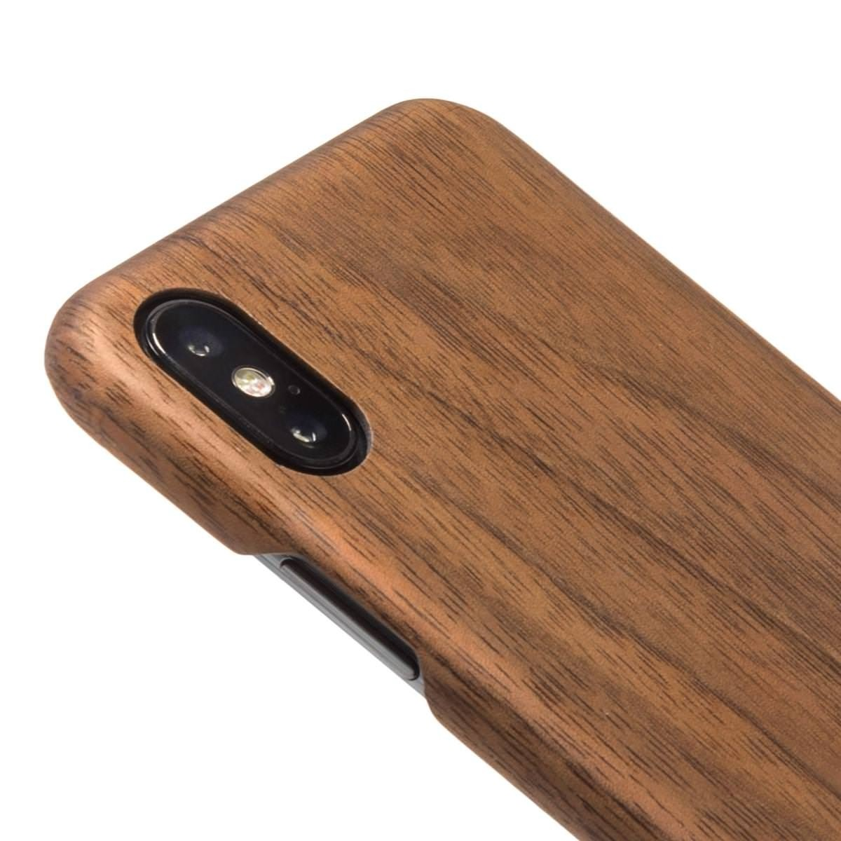**DISCONTINUED** Woodcessories EcoCase Slim for iPhone X/XS - Walnut, eco209