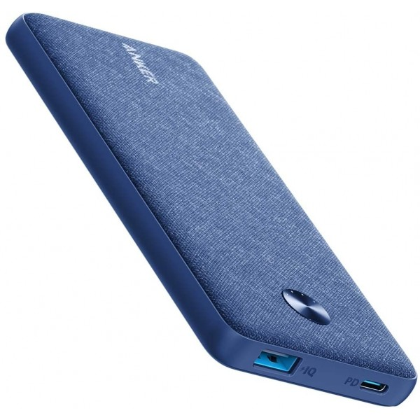 ANKER PowerCore III Sense 10000 - Blue Fabric, A1231T31