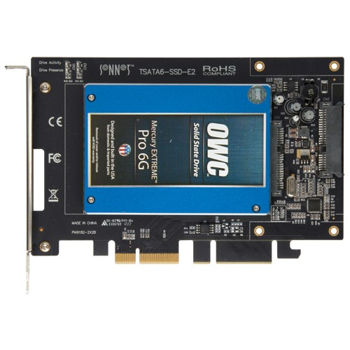 "Sonnet Technologies Tempo SSD 6Gb/s SATA PCIe 2.5"" SSD Host Adapter"