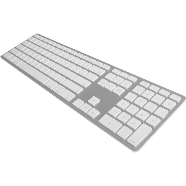 Matias Premium Wireless Aluminum Keyboard for Mac - Silver, MATFK418BTS