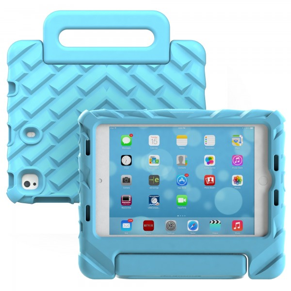 Gumdrop FoamTech for iPad Mini 5 2019 Case - Designed for: Apple iPad Mini 4, 5 - Blue, 15GD-APP-FT-IPADMINI4-BLU