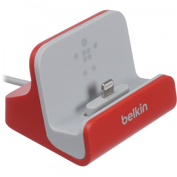 Belkin Mixit ChargeSync Dock (Red) , BE045BTRED