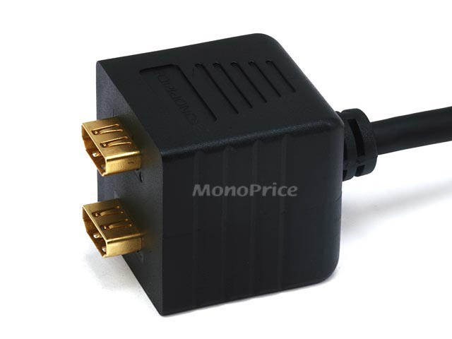 Video/Audio Splitter - HDMI M to HDMI F X 2, HDMI-SPLIT-2522