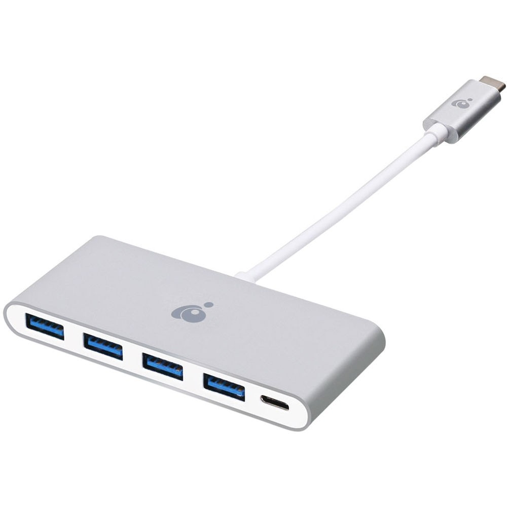 Iogear USB Type-C to 4-Port USB Type-A Hub with Power Delivery , IOGUH3C4PD