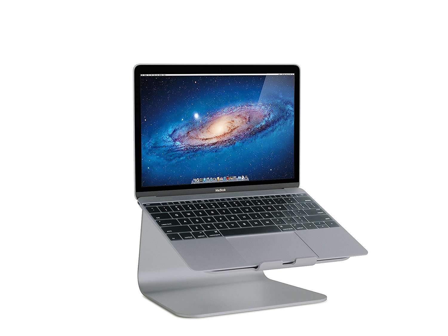 Rain Design mStand Aluminium Laptop Stand for Macbooks - Space Grey, RAUN10072