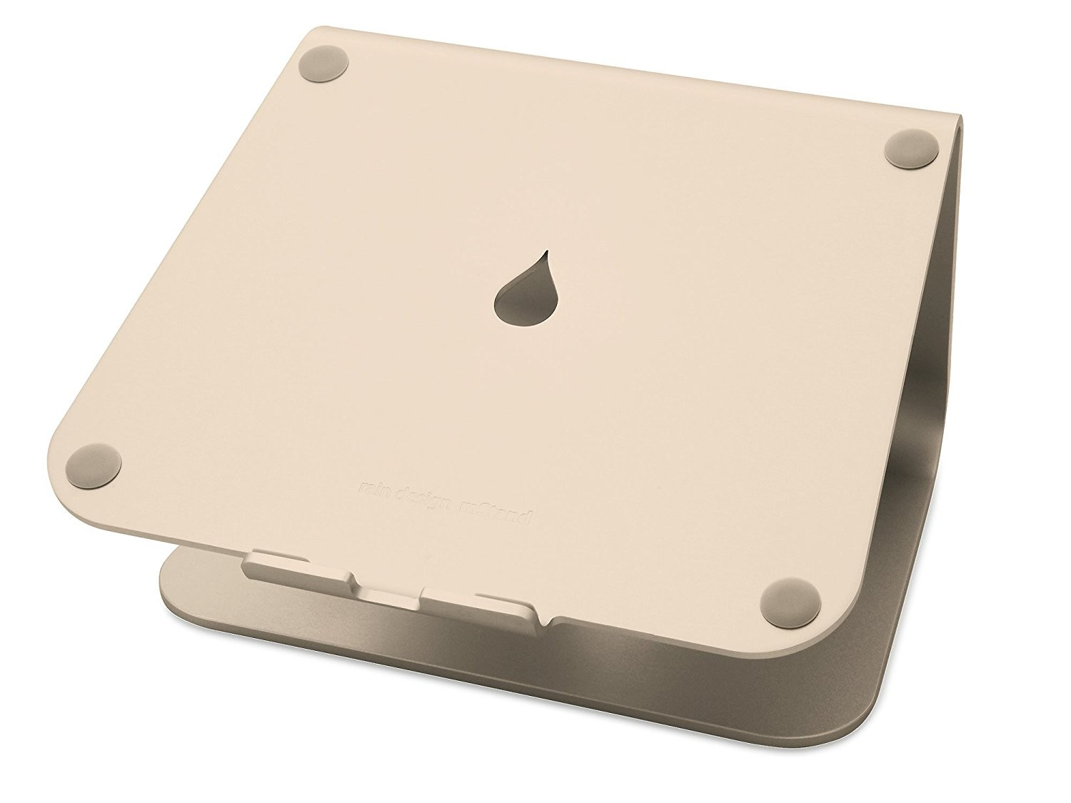 Rain Design mStand360  Laptop Stand with Swivel Base - Gold, RAI10073