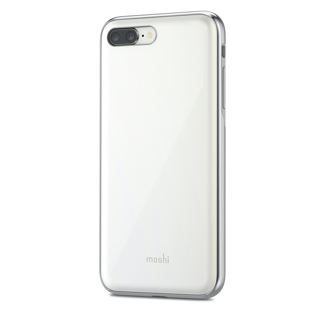 Moshi iGlaze for iPhone 8Plus/7 Plus (New style) - White, 99MO090101