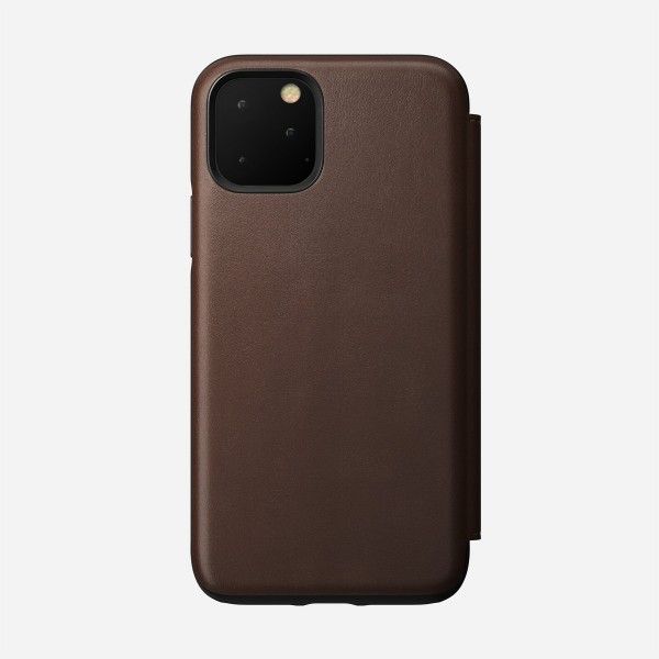 Nomad - Folio - Rugged - iPhone 11 Pro - Brown , NM21WR0000