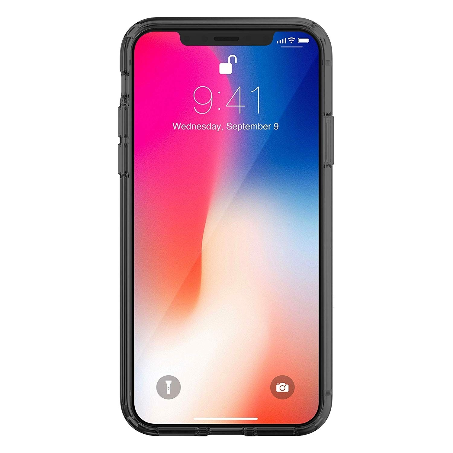 Just Mobile TENC (The Emperor's New Clothes) case for iPhone XS Max - Crystal Black, PC-565CB